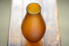 Vaso ambrato Fotografie Stock Libere da Diritti