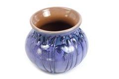 Vaso azul da porcelana Fotos de Stock