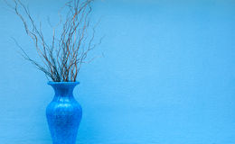 Vaso blu Immagini Stock