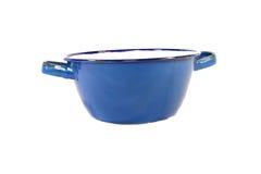 Vaso blu Fotografie Stock