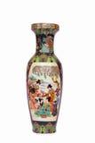 Vaso ceramico di stile cinese Fotografia Stock Libera da Diritti