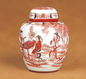 Vaso chinês Imagens de Stock Royalty Free