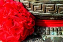 Vaso cinese antico fotografie stock