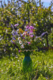 Vaso com flores Foto de Stock