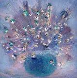 Vaso com wildflowers delicados Imagem de Stock Royalty Free