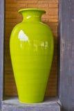 Vaso con l'ornamento orientale immagini stock libere da diritti