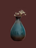 Vaso con un fiore Fotografie Stock Libere da Diritti