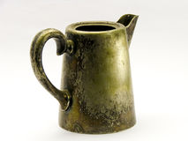 Vaso d'argento antico Fotografie Stock