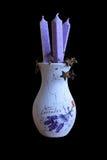 Vaso da alfazema Imagens de Stock