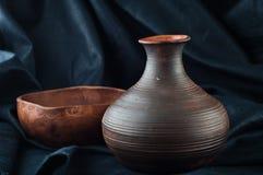 Vaso da argila Imagem de Stock