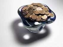Vaso da bagatela e da sombra bonita Fotos de Stock Royalty Free