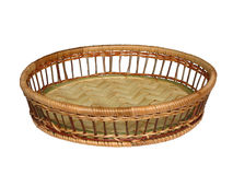 Vaso da palha para o pão. Fotos de Stock