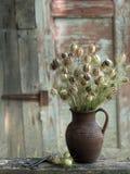 Vaso das flores fotografia de stock