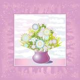 Vaso das flores, vetor ilustração do vetor