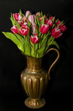 Vaso das tulipas Fotografia de Stock