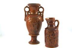 Vaso de Brown Imagem de Stock