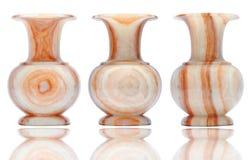 Vaso de mármore do vintage Imagens de Stock Royalty Free