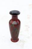 Vaso de madeira envernizado Imagens de Stock