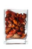 Vaso de vidro interior Imagem de Stock