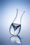 Vaso de vidro quebrado Imagem de Stock