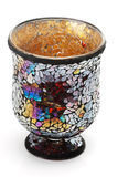 Vaso decorativo del mosaico Immagine Stock