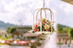 Vaso del cellulare del fiore Fotografie Stock