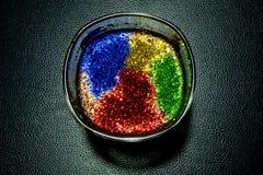 Vaso del color Imagen de archivo libre de regalías