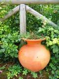 Vaso del giardino Fotografia Stock