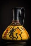 Vaso del greco antico Fotografia Stock Libera da Diritti