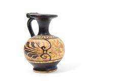 Vaso del greco antico Fotografie Stock Libere da Diritti