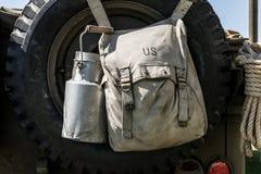 Vaso del latte e della borsa Immagine Stock Libera da Diritti
