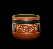 Vaso del Maya Fotografie Stock