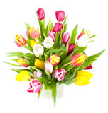 Vaso del tulipano Fotografia Stock Libera da Diritti