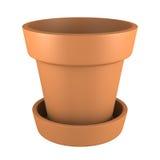 vaso dell'arancia 3D Immagini Stock Libere da Diritti