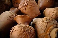Vaso dell'argilla Fotografia Stock Libera da Diritti