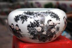 Vaso della Cina Immagini Stock