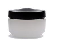 Vaso della crema di pelle Fotografie Stock