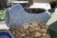 Vaso della fontana Fotografia Stock Libera da Diritti