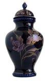 Vaso della porcellana del blu di cobalto Immagini Stock Libere da Diritti
