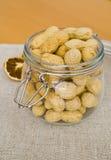 Vaso delle arachidi Immagine Stock Libera da Diritti