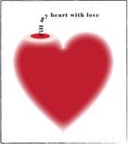 Vaso di amore: Riempia il mio cuore di amore illustrazione di stock