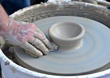 Vaso di argilla Fotografie Stock Libere da Diritti