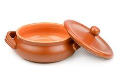Vaso di argilla Fotografia Stock