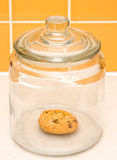 Vaso di biscotto Fotografia Stock Libera da Diritti