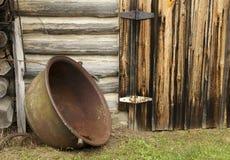 Vaso di cottura rustico Immagine Stock