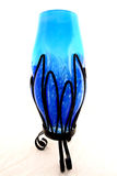 Vaso di fiore di vetro Fotografia Stock Libera da Diritti