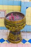 Vaso di incenso Fotografia Stock Libera da Diritti