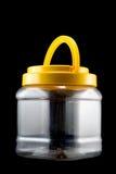 Vaso di plastica Immagine Stock
