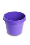 Vaso di plastica della pianta Fotografia Stock Libera da Diritti