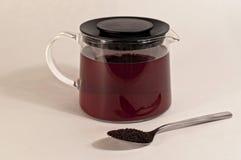 Vaso di tè Fotografia Stock